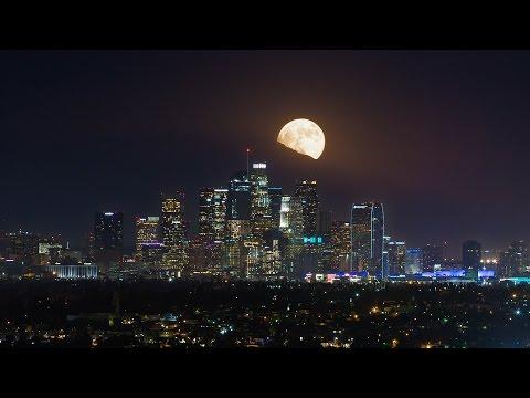 SuperMoon 2016 Los Angeles - 4K Timelapse