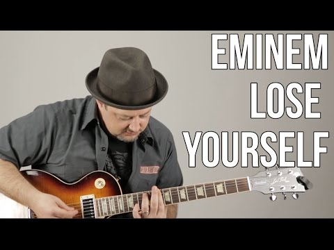 """How To Play """"Lose Yourself"""" by Eminem - Super Easy Power Chord Guitar Riffs"""