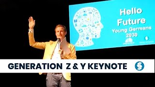 """Gambar cover Gen Z & Y Keynote """"Hello Future - Young Germans 2030"""" - YMS BLN 