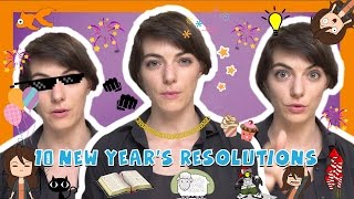 Learn the Top 10 New Years Resolutions in French