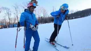 видео Виды горных лыж и горнолыжного катания