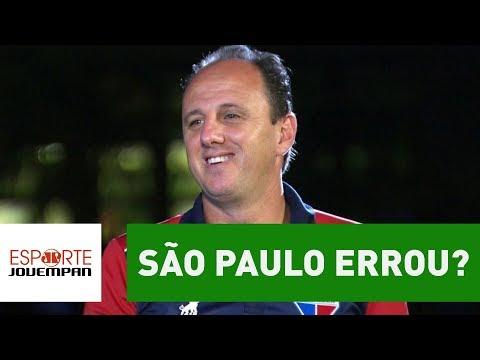 Sucesso de CENI no FORTALEZA prova que SÃO PAULO ERROU?