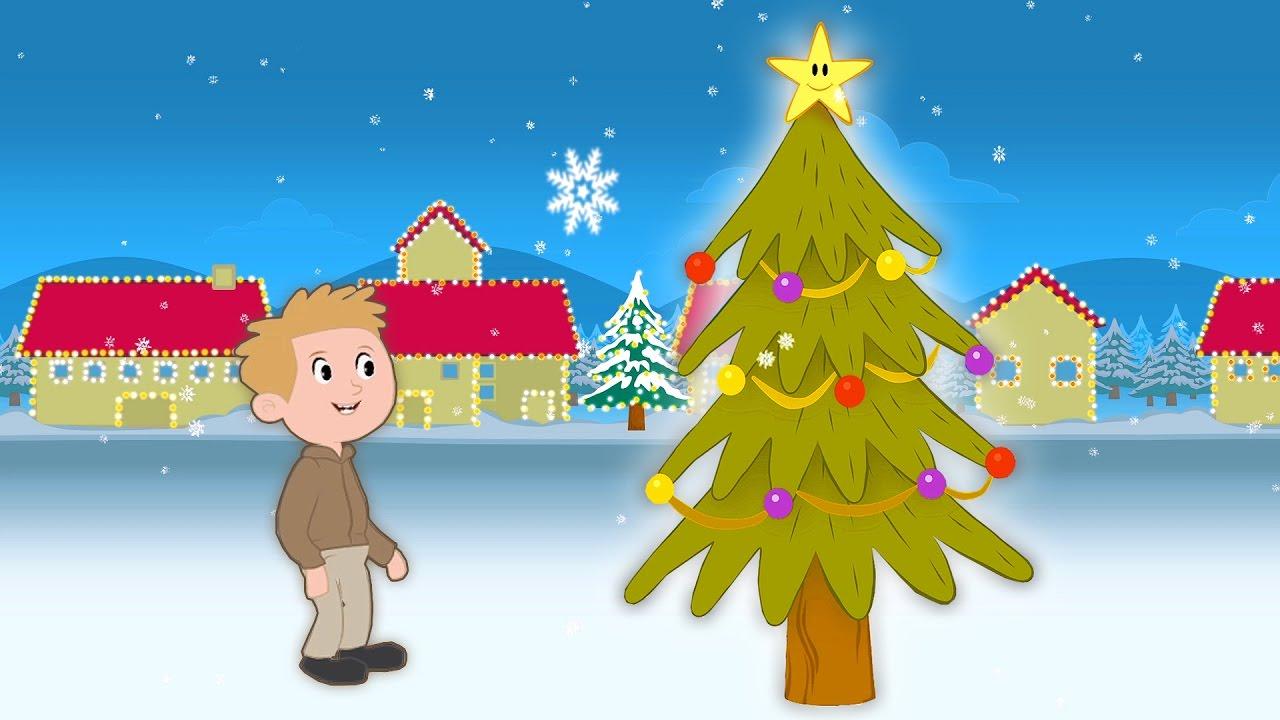 O Christmas tree   Christmas Song For Kids   Sing-along with Lyrics! - YouTube