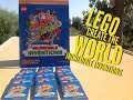 BRAND NEW LEGO Create The World Trading Cards | Create The World Incredible Inventions