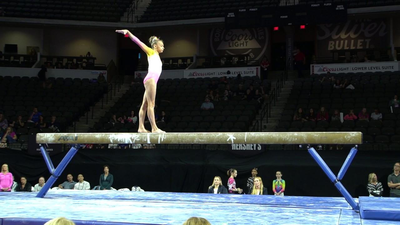 grace mccallum u2013 balance beam u2013 us classic u2013 junior competition usa gymnastics