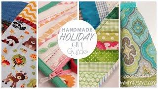 Handmade Holiday Gift Guide 2016 | Whitney Sews