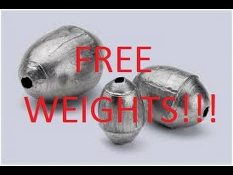 WHERE TO FIND LOADS OF FREE LEAD FISHING WEIGHTS