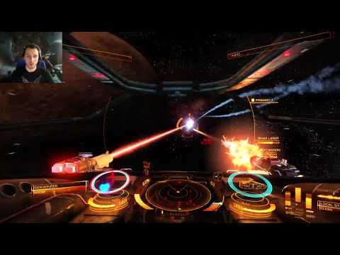 Elite: Dangerous - Twitch stream #2 - Multiplayer scenarios