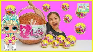 LOL Surprise Dolls Opening Toys with 50+ Surprises and Fizz Balls!