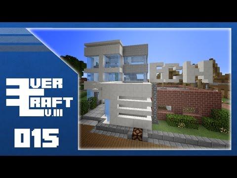 Minecraft :: EverCraft SMP S3 : Ep. 015 - Modern News Station Build