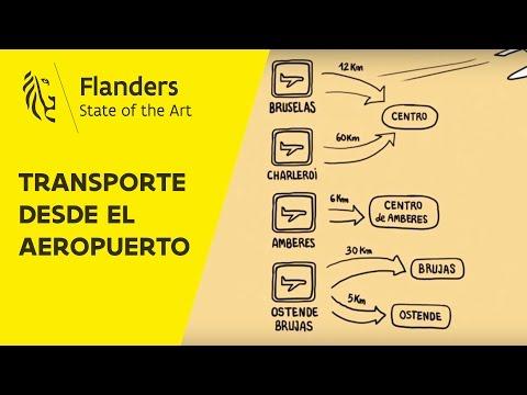 Transporte desde el aeropuerto de Bruselas, Charleroi, Amberes y Brujas-Ostende