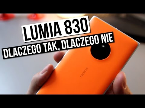 Lumia 830 - szybka recenzja - dlaczego TAK, a dlaczego NIE | Komputer Świat
