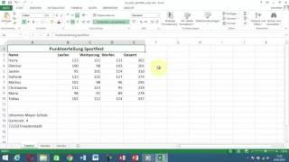 Excel Tipps und Tricks #6 Überschrift durch Verbinden und zentrieren ausrichten