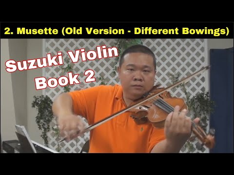 Suzuki Violin School - Book 2 - Musette