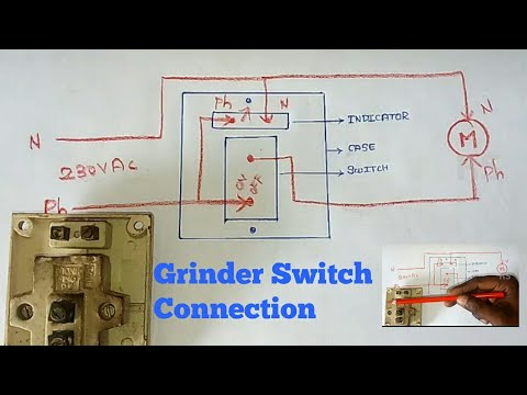 grinder switch indicator  connection diagram  rs electrical tamil  channel  ramanan