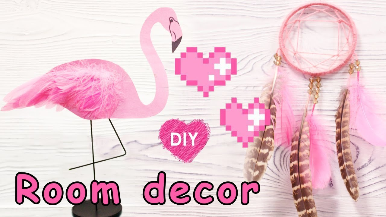 Valentine's day - Room decor - dreamcatcher and pink ...