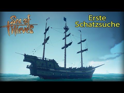 Sea of Thieves Beta - Piraten Ahoi - Erste Schatzsuche auf 3 Inseln...