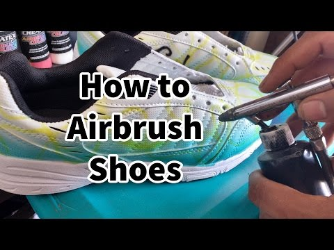How to Airbrush Shoes