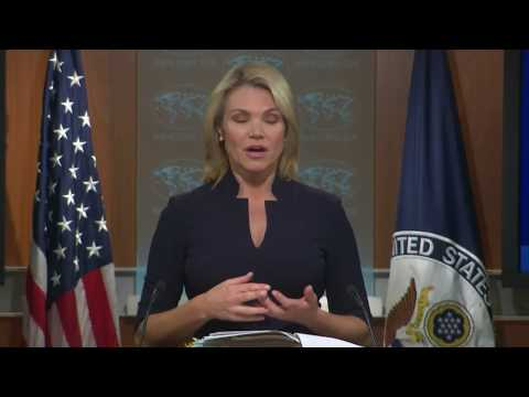 WATCH: State Department news briefing