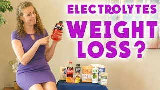 Why Sports Drinks Make You Fat & Prevent Weight Loss! Electrolytes Healthy Alternatives
