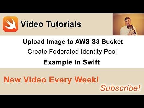 Swift. Image Upload to AWS S3 Bucket - Create Identity Pool