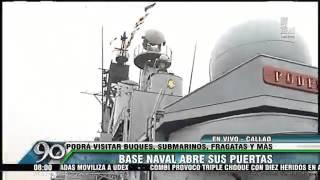Visita a los buques emblemáticos de la Marina de Guerra (Canal 2)