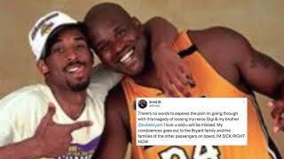 Former Lakers Teammates Shaquille O'Neal, Pau Gasol React To Kobe's Death