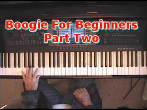 Boogie For Beginners Part Two: WalkTheStairs In All 12 Keys