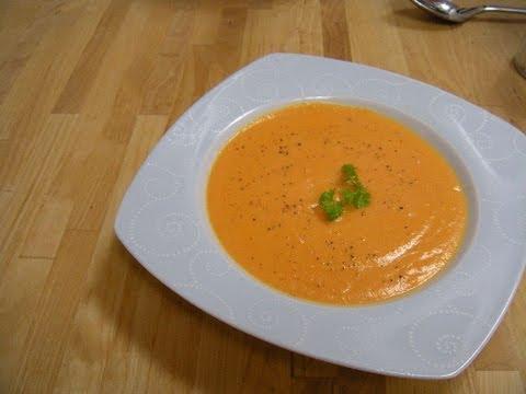Karotten-Kokos-Suppe (vegan)