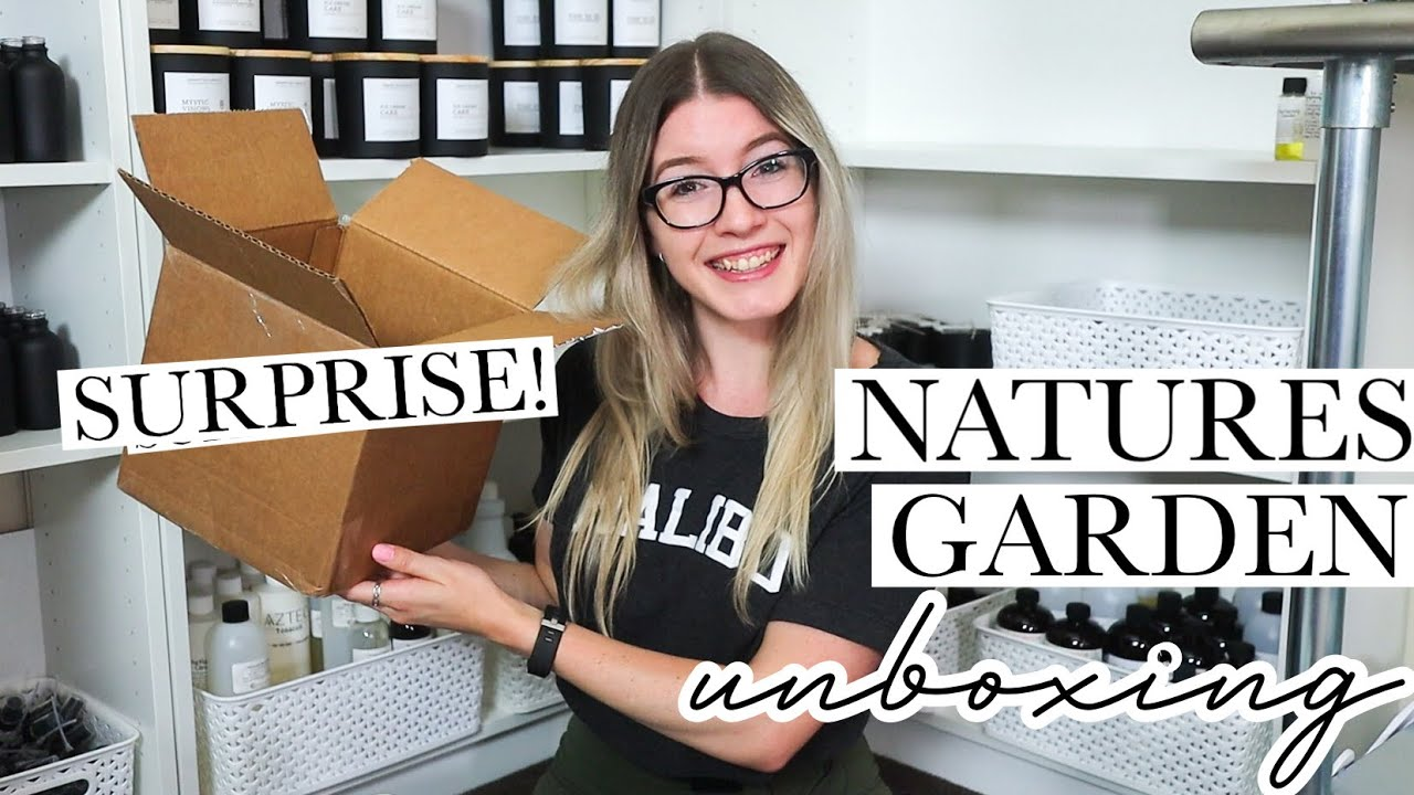 Unboxing A SURPRISE Package From Natures Garden