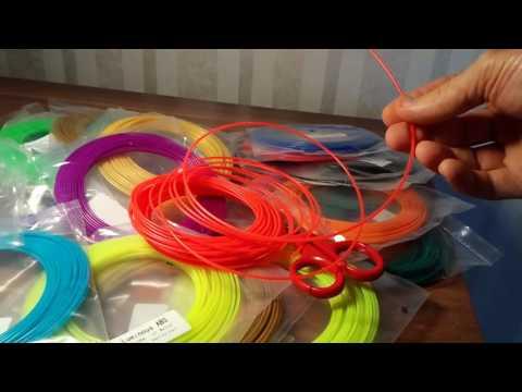 Sunlu 20pcs ABS 1 75mm 3D Printer Filament Supplies For Printing Pen 10m