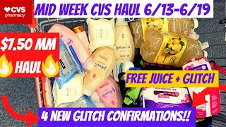 🔥CVS MID WEEK HAUL 6/13-6/19 {4 NEW GLITCH CONFIRMATIONS & $7.50 MM HAUL}🤑 CVS Couponing This Week