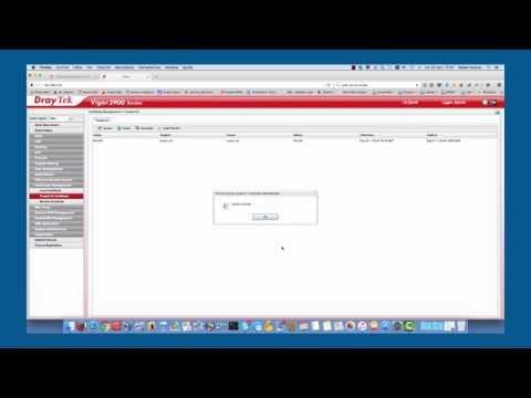 Configuracion SSL VPN en un Vigor 3900