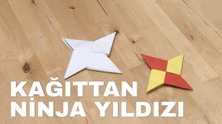 Ninja Yıldızı Yapımı [Origami]