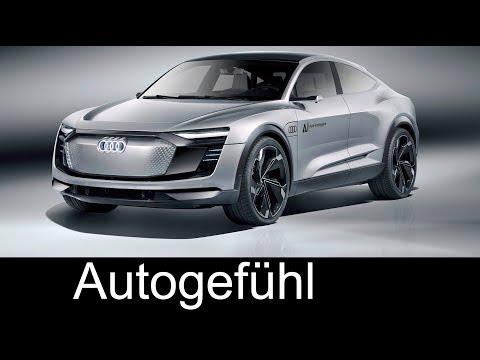 Audi Elaine Concept Exterior/Interior Preview - IAA 2017 - Autogefühl