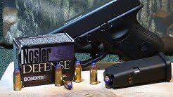 NOSLER DEFENSE 9mm 124gr +P Short Barrel Ballistic Gel Test