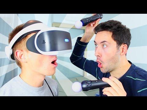 Un Abonné découvre la Réalité Virtuelle ! (Test PlayStation VR)
