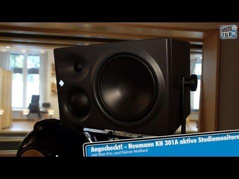 Test - Neumann KH 310 Mid-Field Aktivmonitore - deutsch