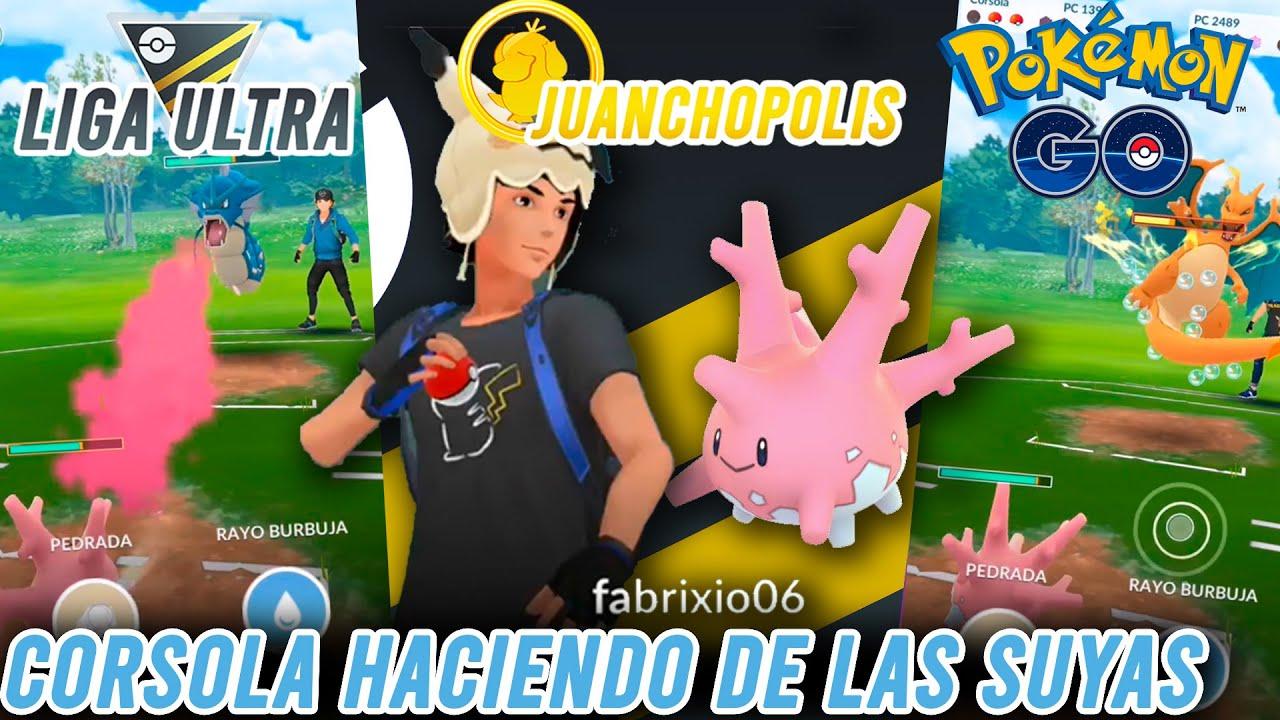 ¡CORSOLA DESPIDIENDO LA LIGA ULTRA!-Pokémon Go PvP