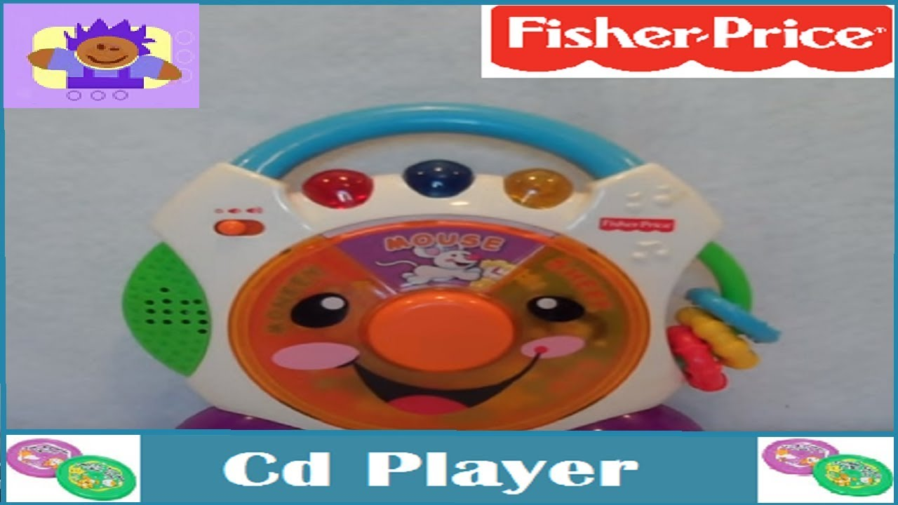 2005 Fisher Price Nursery Rhymes Cd Player Toddler Toy