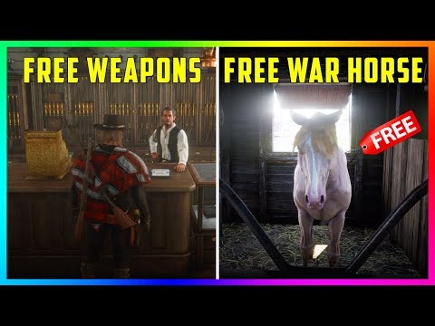 How To Get TONS Of FREE Items In Red Dead Online - The Best Horses, Rare Weapons & MORE! (RDR2)