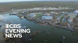 Mexico Beach in Florida reduced to rubble after Hurricane Michael