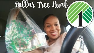 DOLLAR TREE HAUL!!! WHAT'S IN THE BAG???