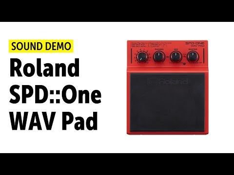Roland SPD::One WAV Pad - Sound Demo - YouTube