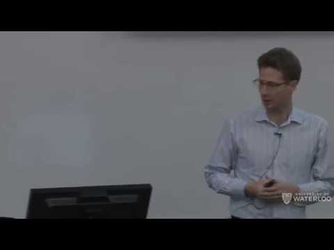 Waterloo Brain Day Lectures 2015 - Thomas Griffiths (University of California, Berkeley)