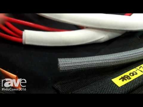 InfoComm 2016: Techflex Features Cable Wire Management F6, F6 Flat, and F360