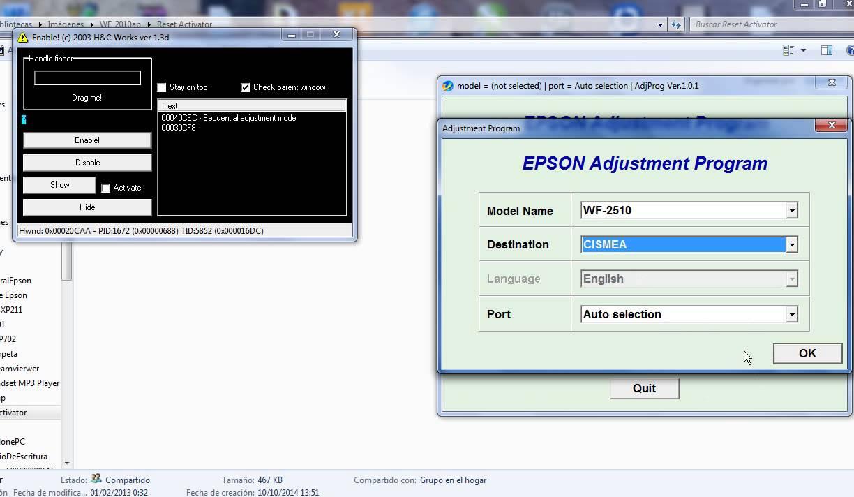 reset epson workforce 2010 2510 2520 2530 2540 youtube. Black Bedroom Furniture Sets. Home Design Ideas