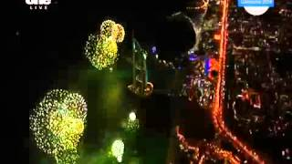 Burj Al Arab Dubai New Year 2015 Fireworks! Breaki