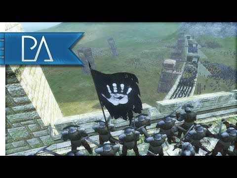 SIEGE OF HELMS DEEP: ISENGARD DEFENDS - Third Age Total War Reforged Gameplay