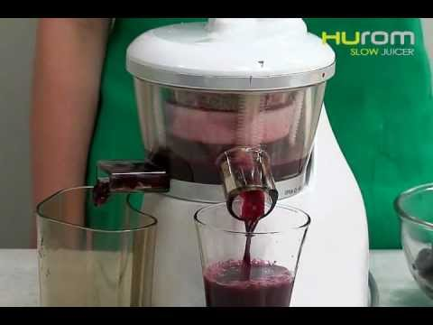 Hurom Slow Juicer Stopped Working : HUROM Slow Juicer - HU-200 Models - YouTube